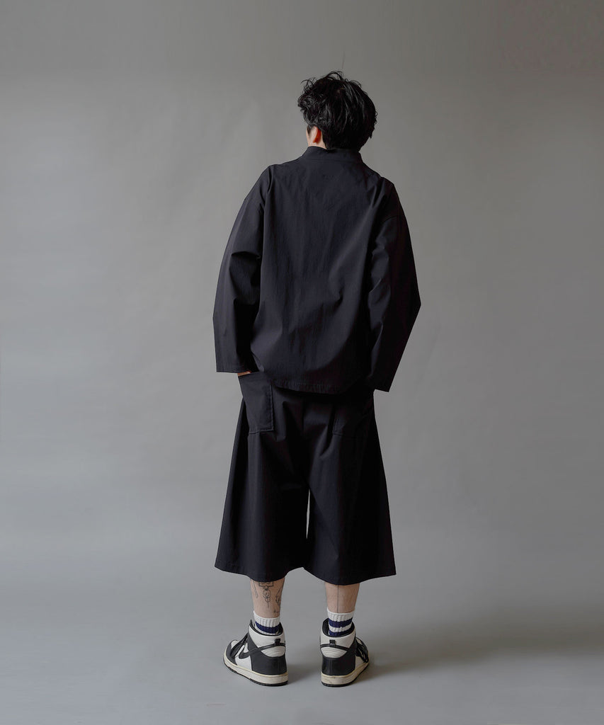 Limonta Nylon China Shirt Blouson