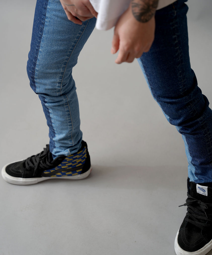 12,5oz Stretch Denim Skinny Pants
