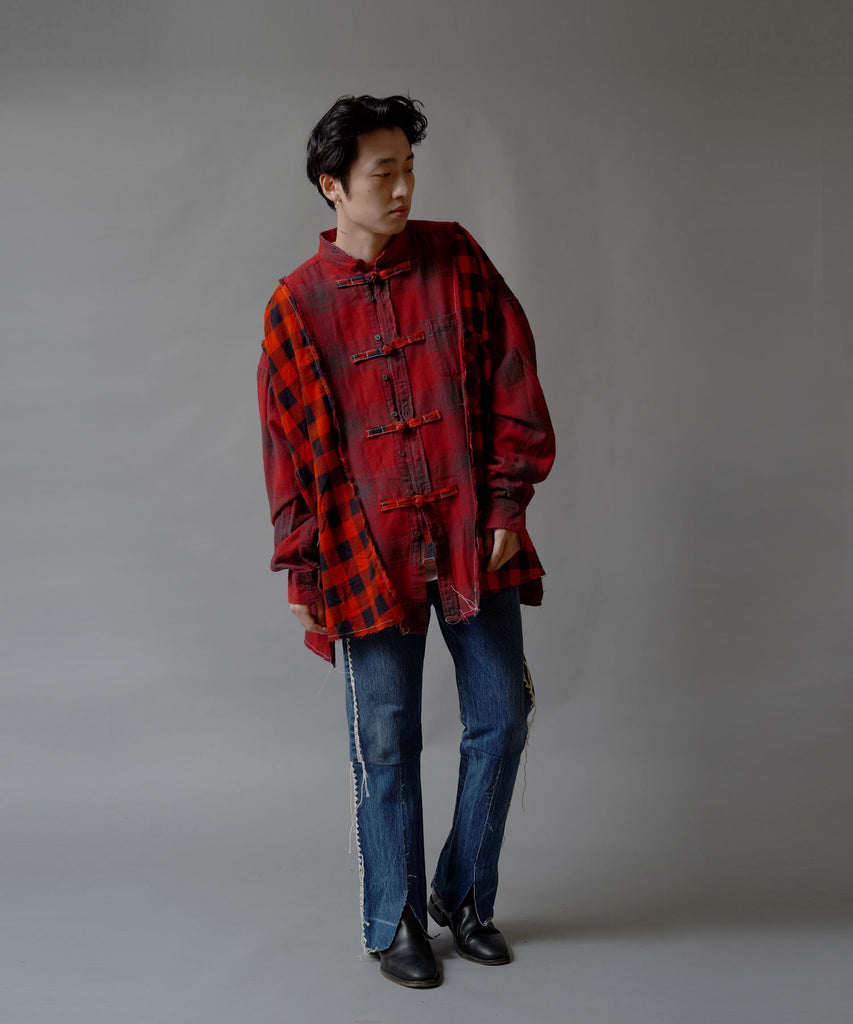 """newsed"" DOCKING NEL CHINA SHIRT"