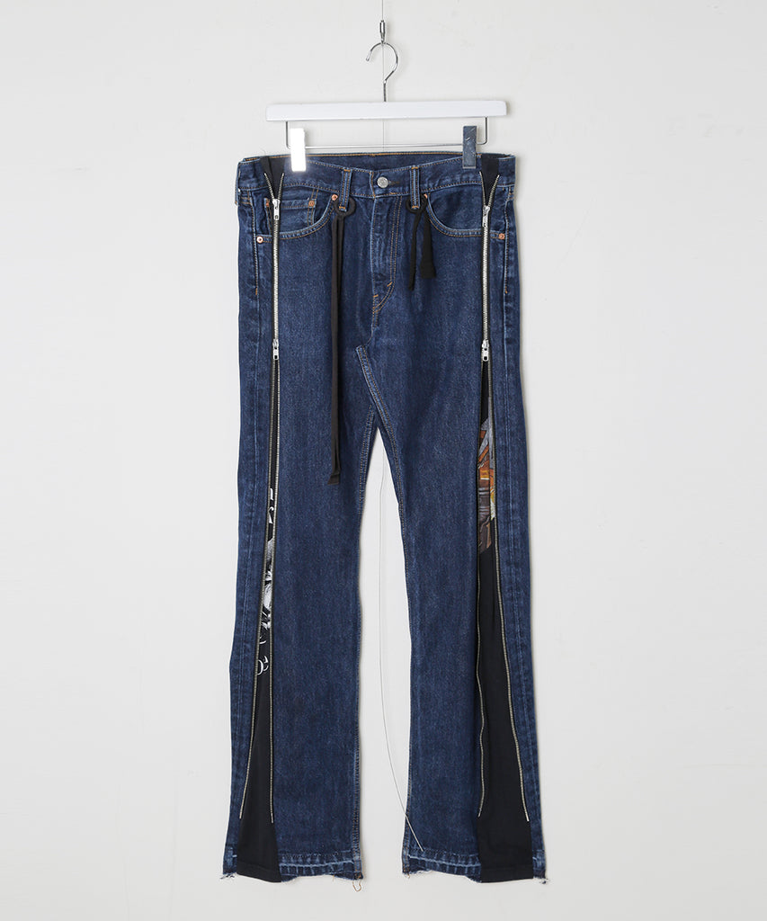 """newsed"" Zip pants[A]"