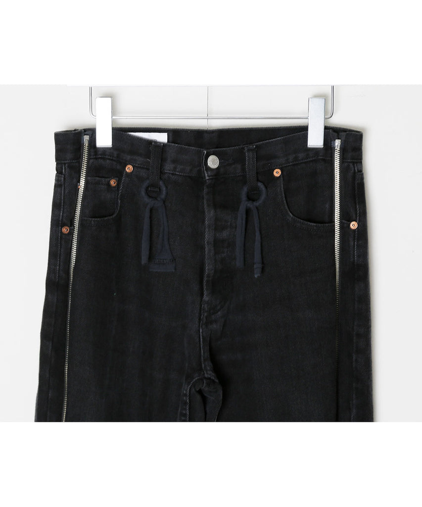"""newsed"" Zip pants[C]"