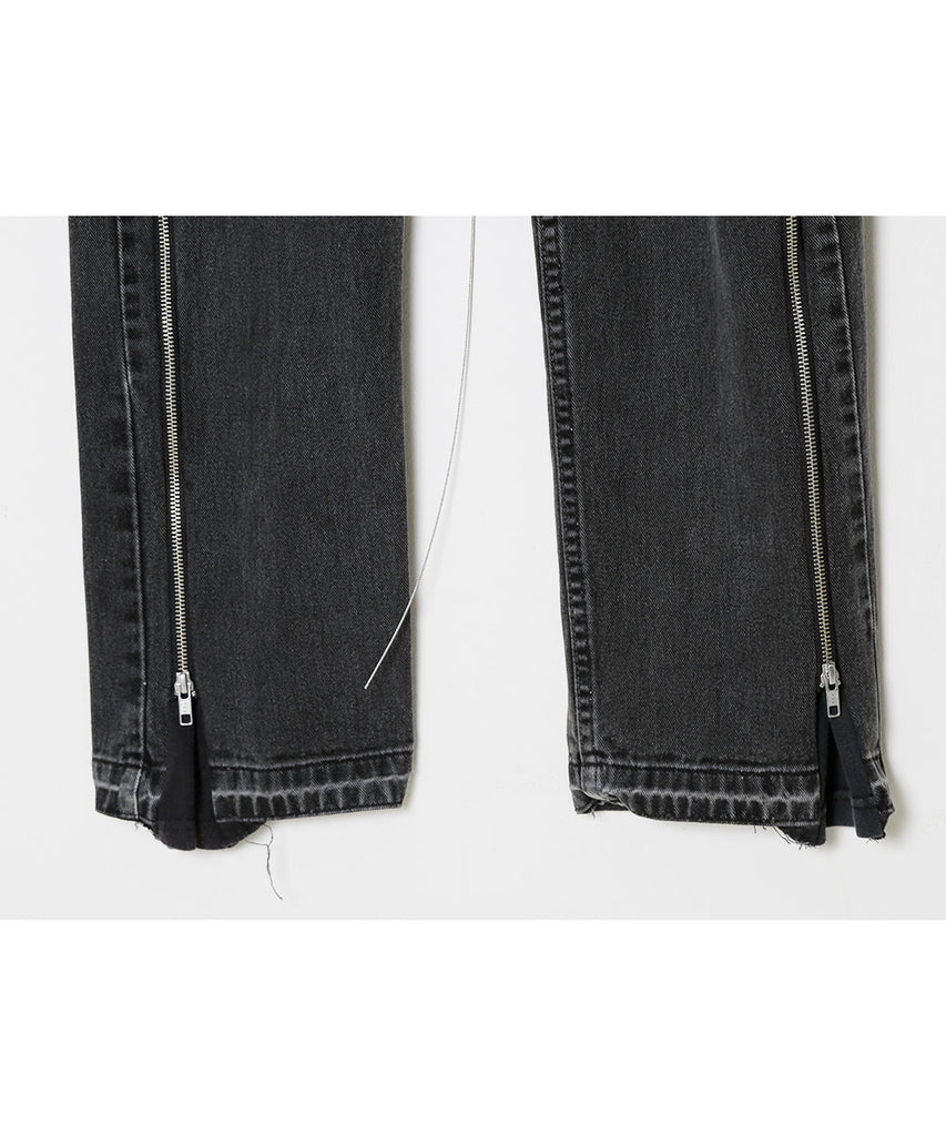 """newsed"" Zip pants[D]"