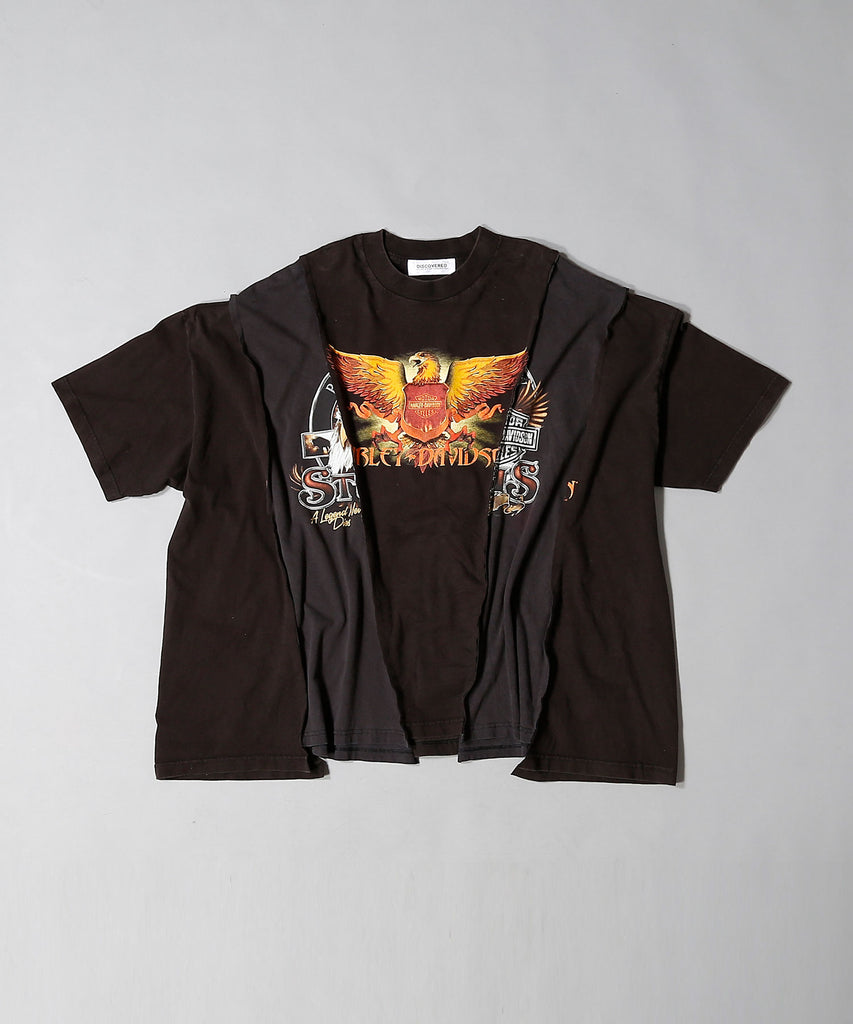 """newsed"" Wide HARLEY T-shirt"