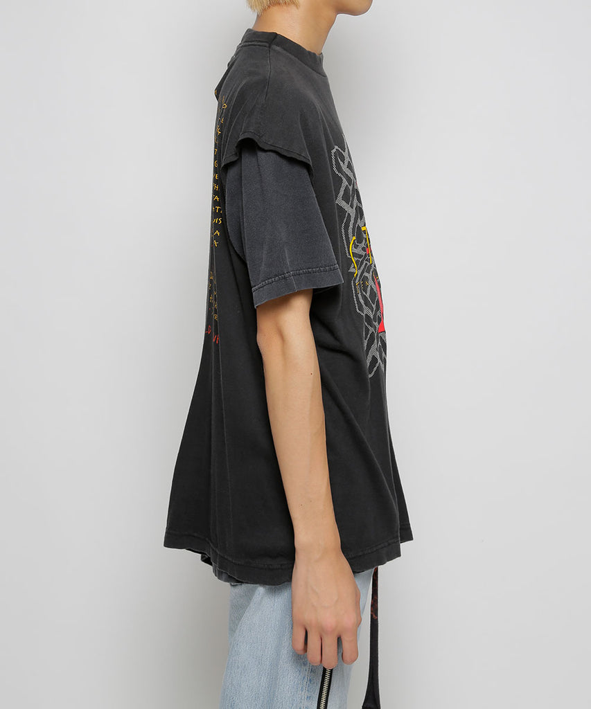 """newsed"" Layered T-shirt[K]"