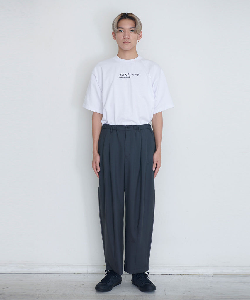 予約商品|Wool Tropical Wide Pants