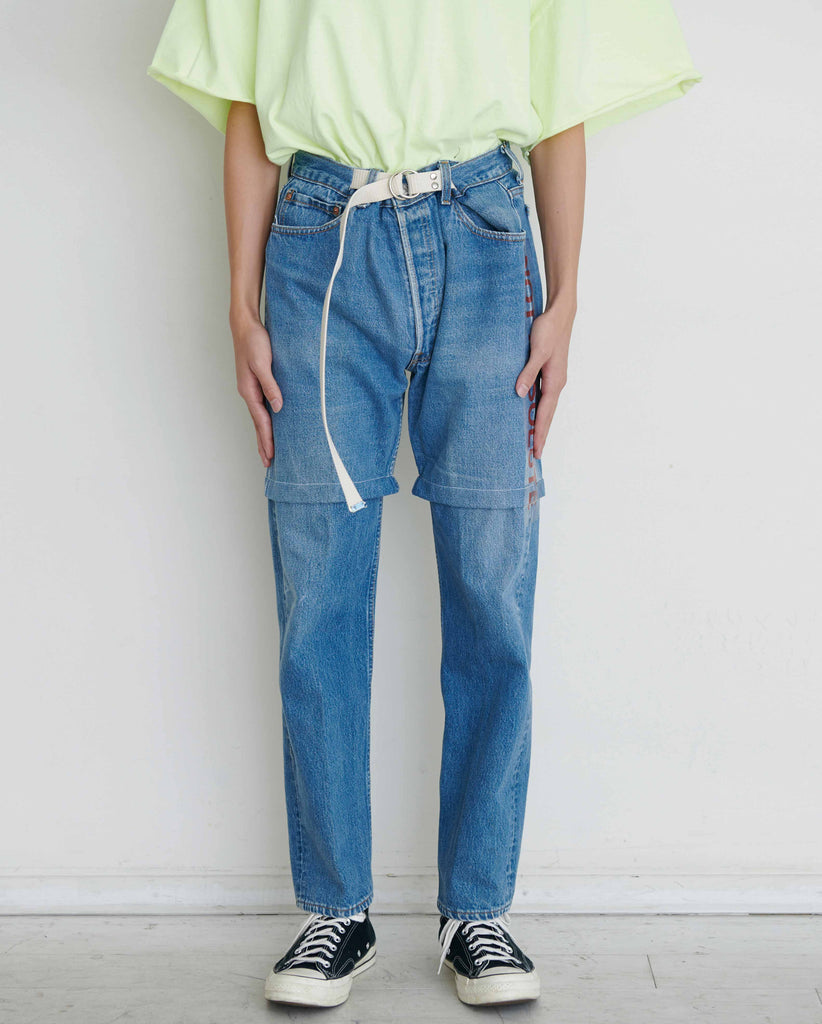 """newsed"" Belt Pants"