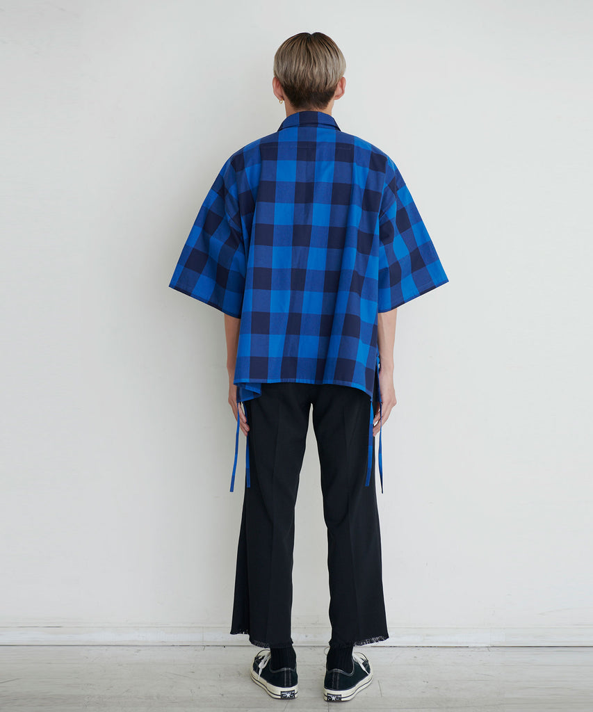 予約商品|Hicount Twill Block Check Shirts