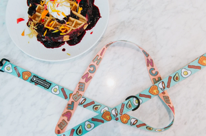 Frenchie Comfort Leash - Breakfast Club