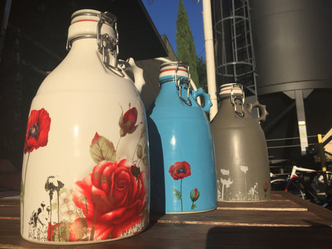 Justin Rothshank Poppy Growlers