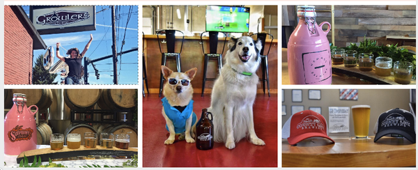 We've partnered with three outstanding breweries and our favorite beer-loving pups from Instagram to support NBCF through live and online raffles.