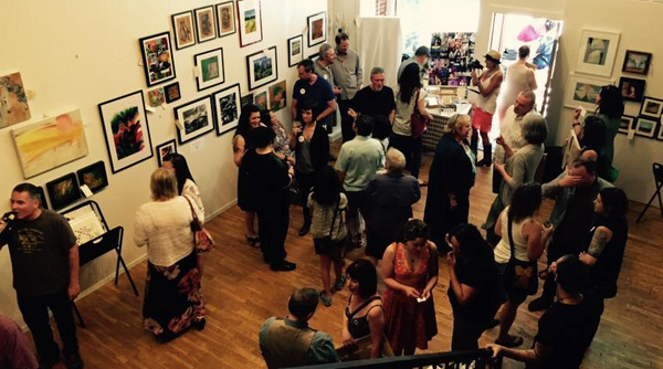 Small Works Big Cause Art Fundraiser at Basic Space Gallery in Portland
