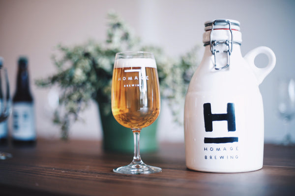 Homage Brewing Custom Growler