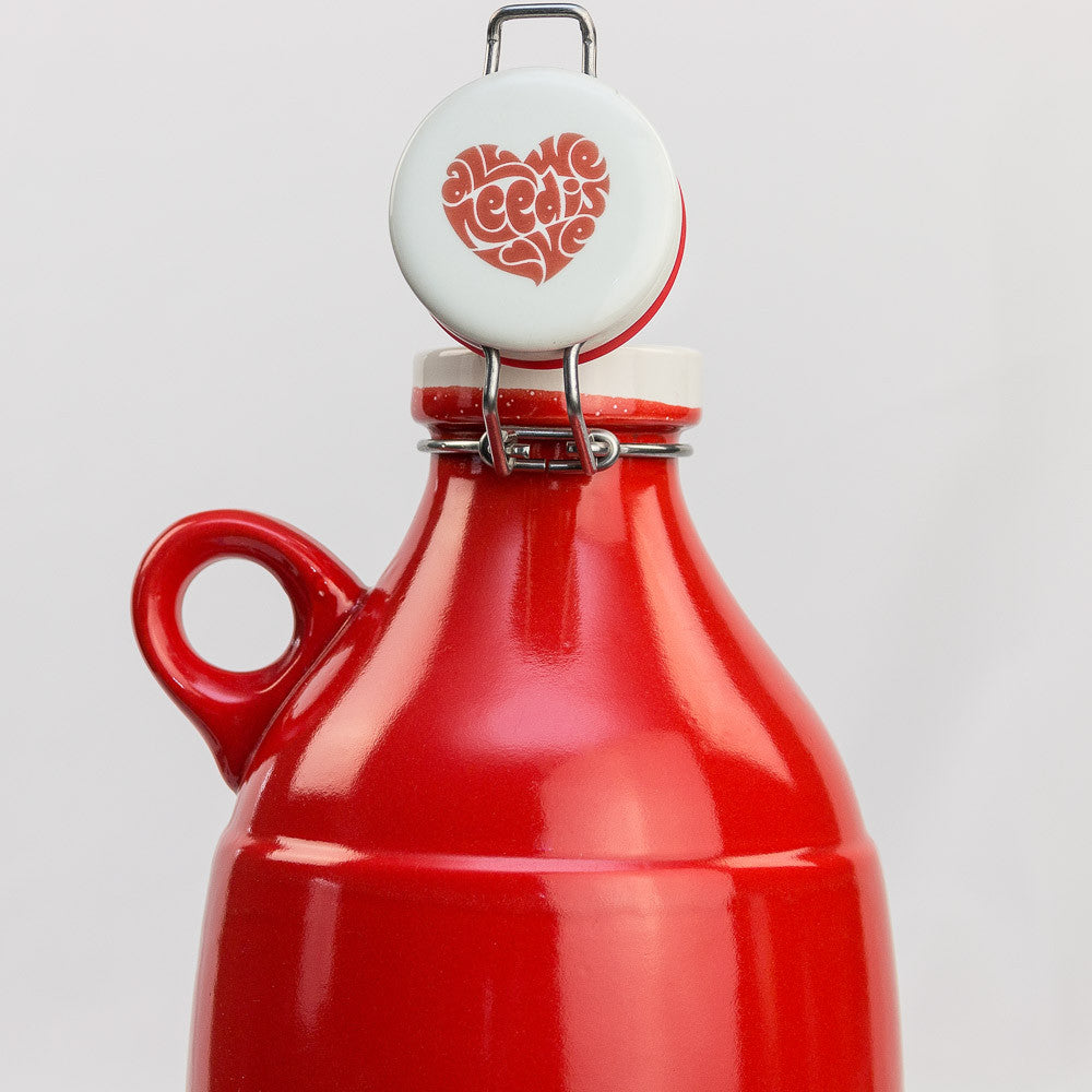 All We Need is Love Flip Top Growler Lid