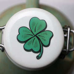 Shamrock Flip Top Lid