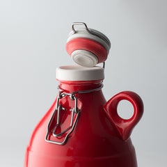 The Loop Growlette | Gloss Red | 32 oz