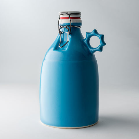 64oz / Gloss Blue / None | 64oz / Gloss Blue / None