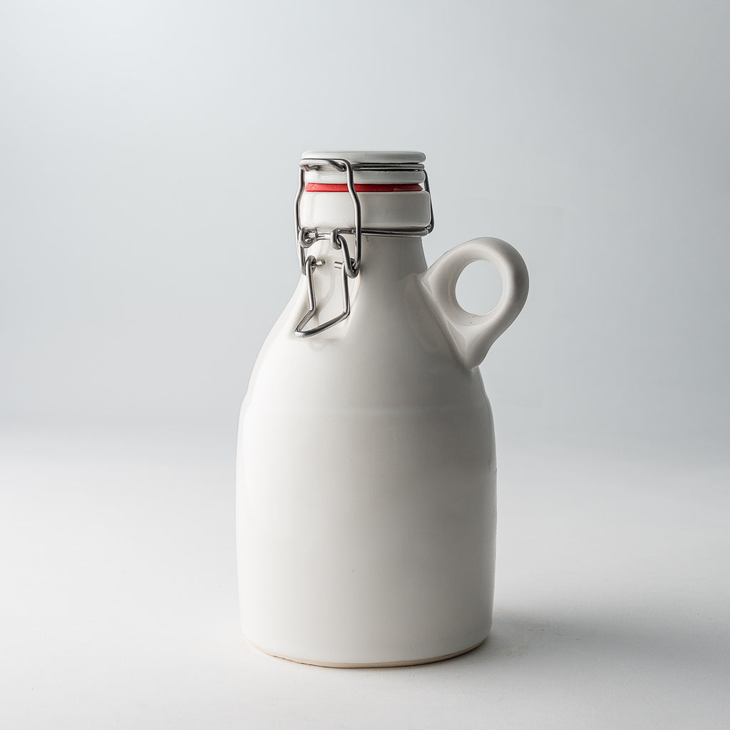The Loop Growlette | Gloss White | 32 oz