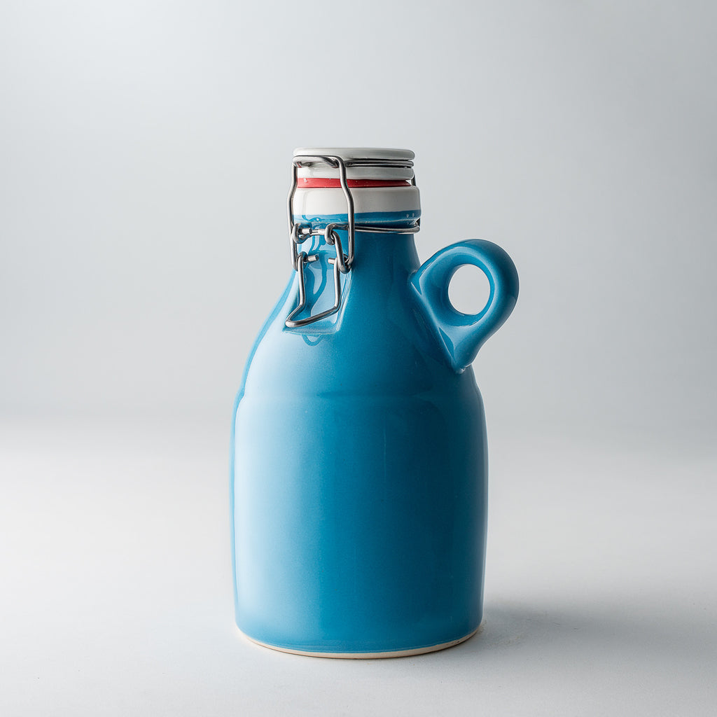 The Loop Growlette | Blue | 32 oz