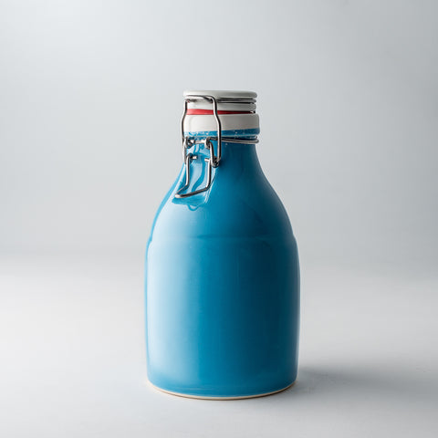 32oz / Gloss Blue / None | 32oz / Gloss Blue / None