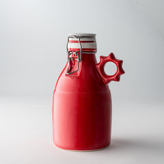 The Sprocket Growlette | Gloss Red | 32 oz