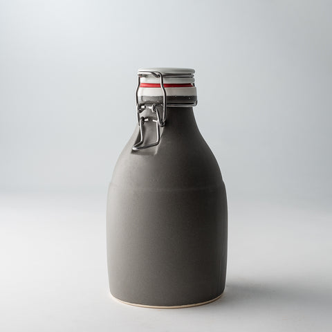 32oz / Satin Grey / None | 32oz / Satin Grey / None