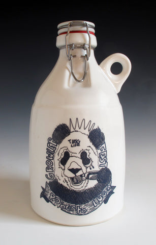 Limited Edition Roberto Lugo Loop Growler