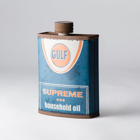 Porcelain Gulf Flask