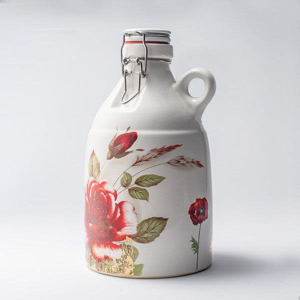 White Poppy Growler