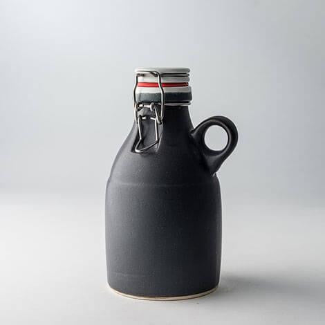 32oz Growlette with Leash, Monogram Body and Lid
