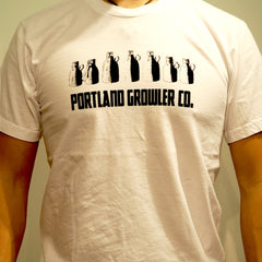 The Growler Collection T-Shirts- (Men)