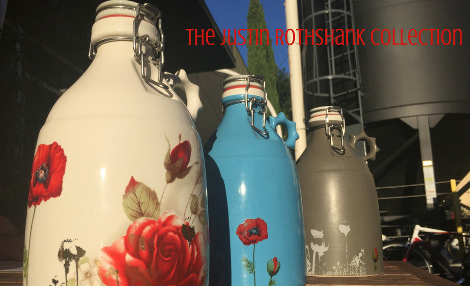 Justin Rothshank Artist Edition Growlers