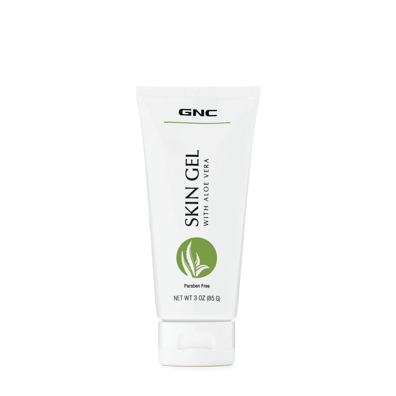GNC SKIN GEL WITH ALOE VERA 85G