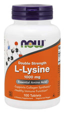 Combo: Now L-Lysine 1000mg (100 viên) + Super Colon Cleanse (60 Viên) | FREESHIP