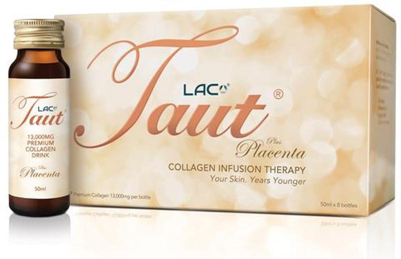 Lac Taut Collagen Infusion Therapy Plus Placenta 50ML x 8 BOTTLES