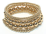 GIGI 5 14kt Gold Filled Bracelet Stack