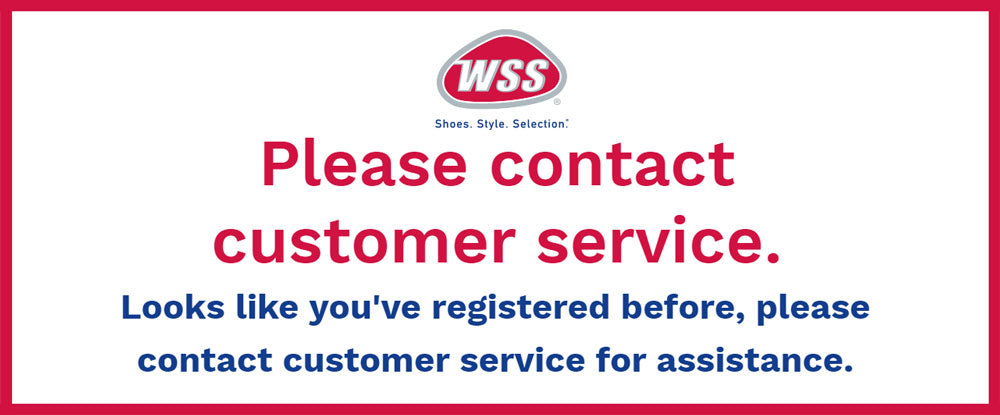 Please contact customer service.