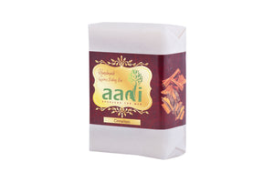 AADI Cinnamon Luxurious Handmade Bathing Bar with the Finest Ayurvedic Ingredients