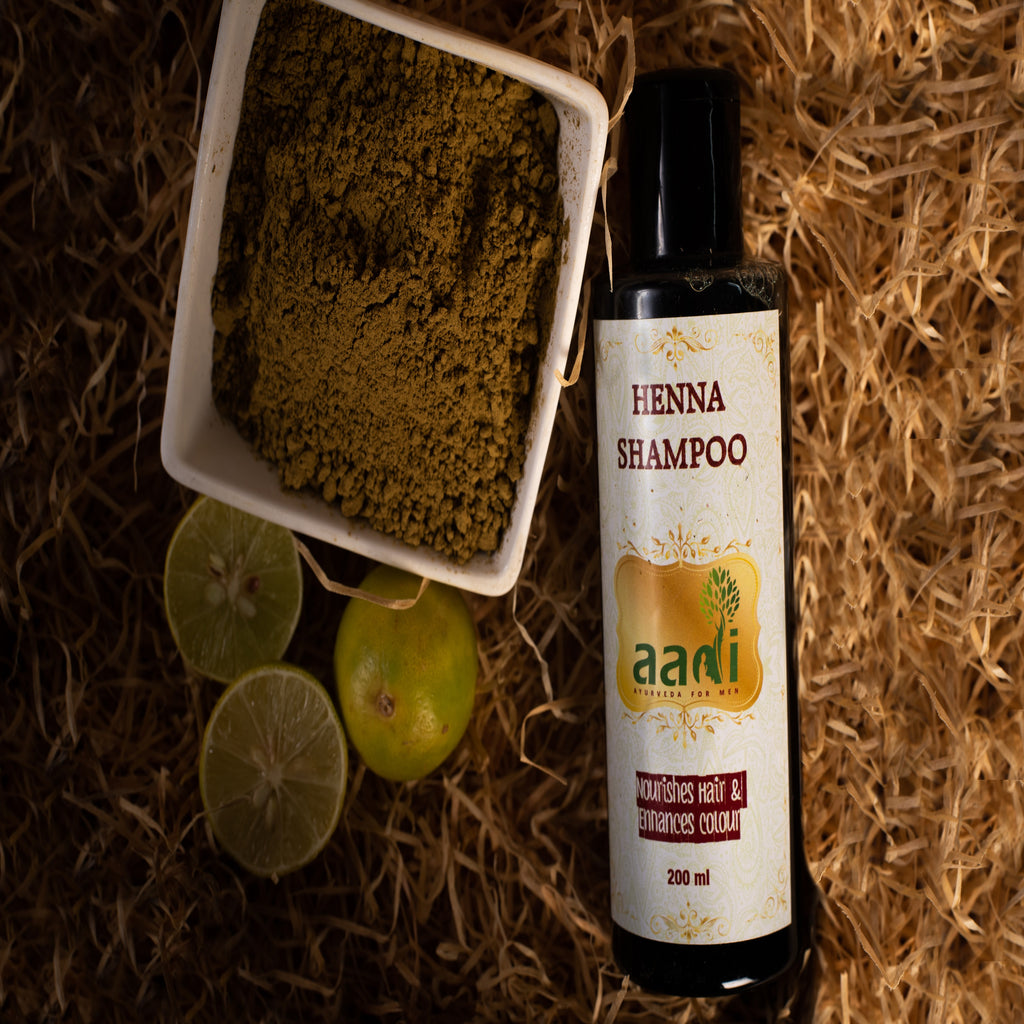 AADI Henna Shampoo with the Finest Ayurvedic Ingredients