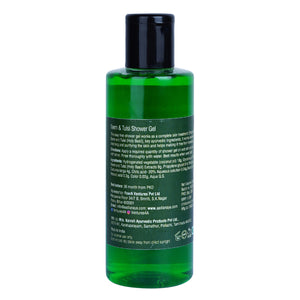 ANAYA Neem & Tulsi Shower Gel with the Finest Ayurvedic Ingredients (200 ml)