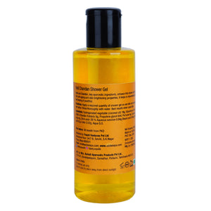 ANAYA Haldi Chandan Shower Gel with the Finest Ayurvedic Ingredients (200 ml)