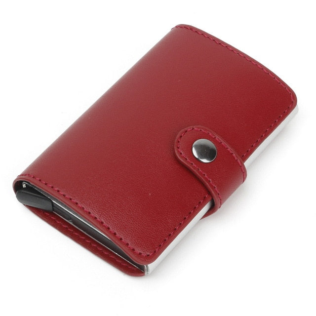 Anti-Theft RFID Safe Leather Wallet