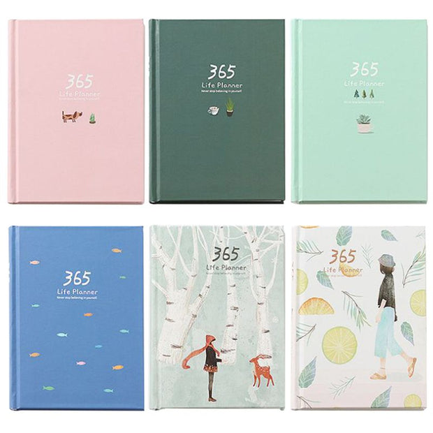 365 Days Hardcover Planner
