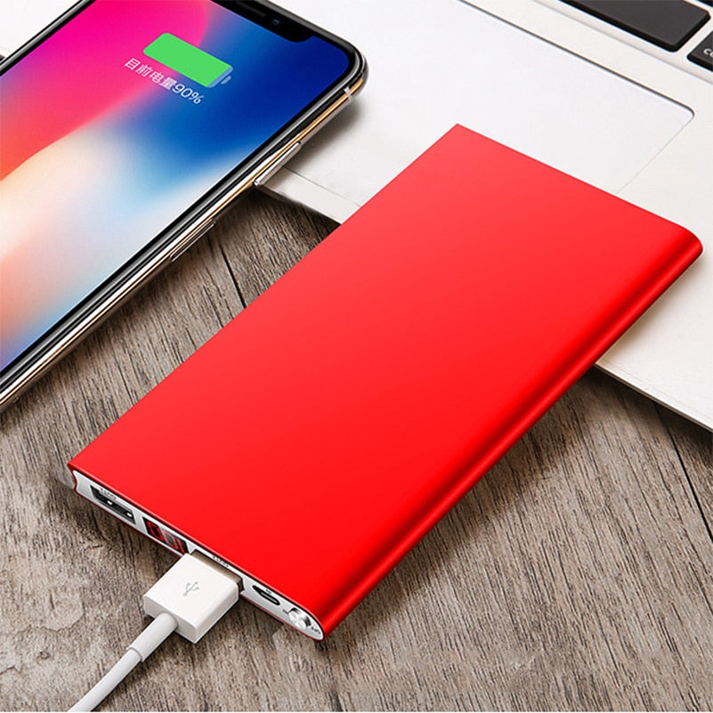 Portable Ultra-Thin External Battery Charger