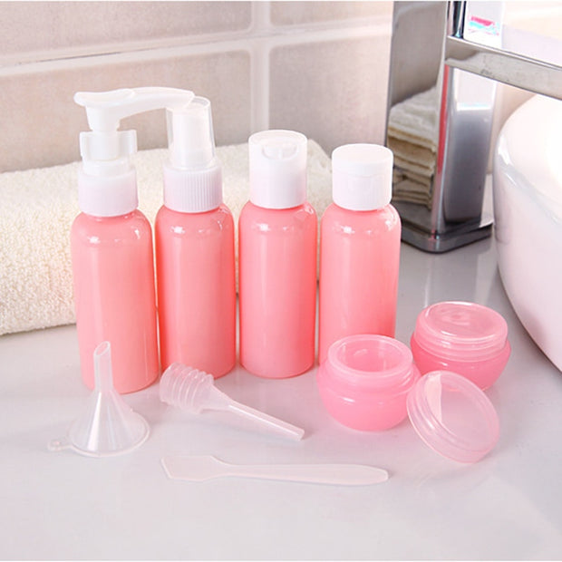 Refillable Travel Bottle Set