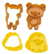 Load image into Gallery viewer, Rilakkuma Bear & Chick Cutter & Stamper Set