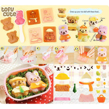 Load image into Gallery viewer, Bear & Bunny Rice Mould Set