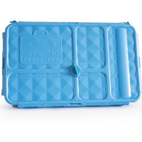 Go Green Original Lunch Box & Drink Bottle - BLUE