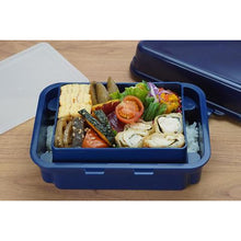 Load image into Gallery viewer, Gel Cool Plus Deli Two Tier Bento Box with Freezeable Lid - Macaroon Blue