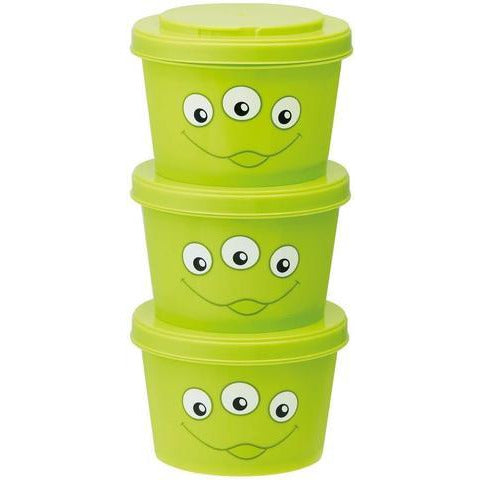 Alien Snackpots Round - Set of 3