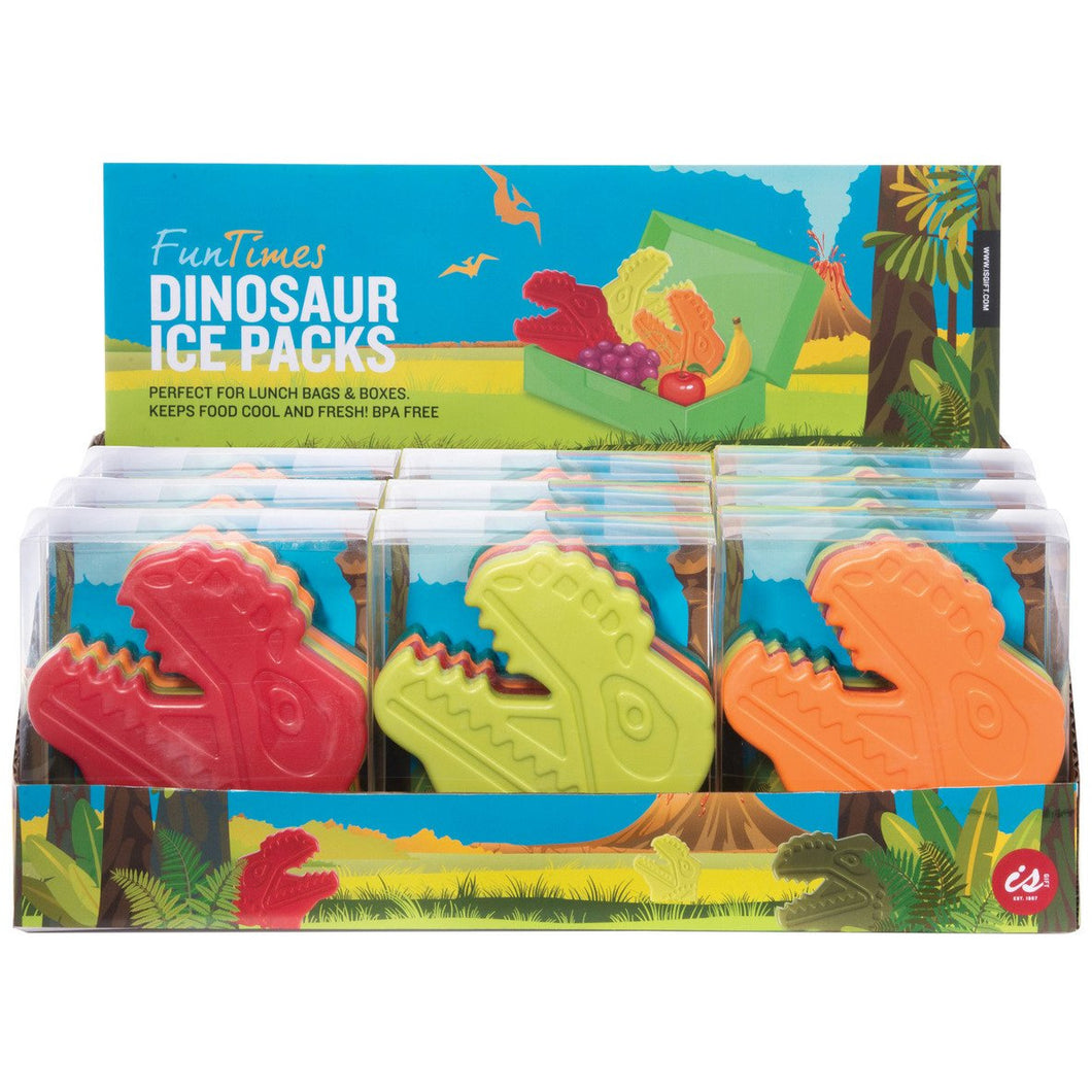 Fun Times Ice Packs - Dinosaur (Set of 4)